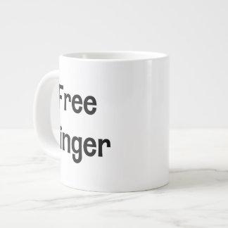 Free Jinger Large Coffee Mug