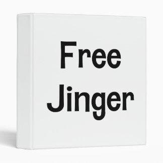 Free Jinger Vinyl Binders
