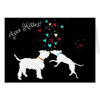 Free Kisses! Card