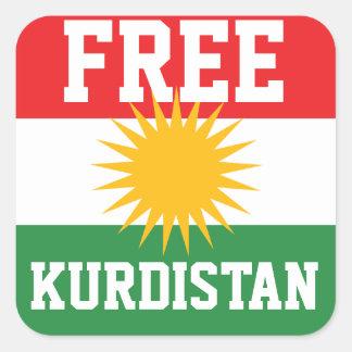 FREE KURDISTAN FLAG STICKERS