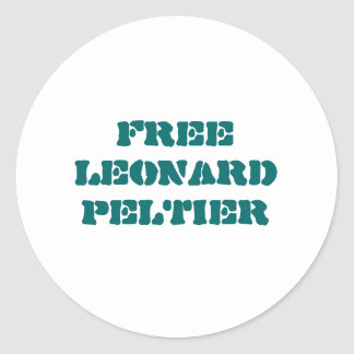 Free Leonard Peltier sticker