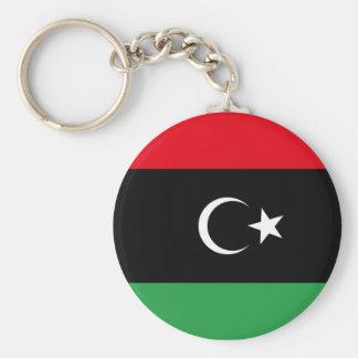 Free Libya Flag Keychain