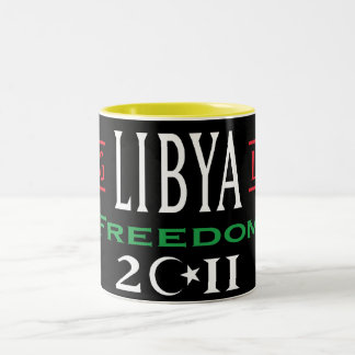 Free Libya Mugs Long Live Libya Freedom 2011