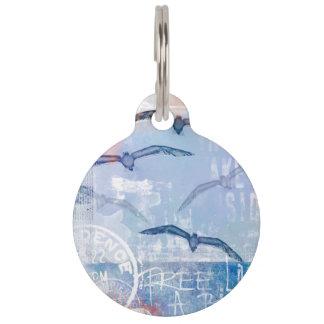 Free like a bird pet tag