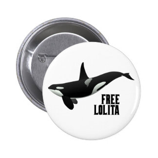 FREE LOLITA 2 INCH ROUND BUTTON