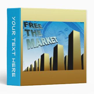 Free Market Economy Vinyl Binder