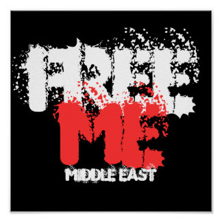 FREE ME MIDDLE EAST POSTER