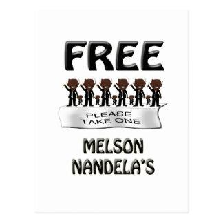 free melson nandelas postcard