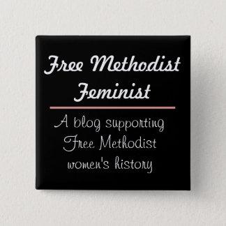 Free Methodist Feminist Button 2 Design