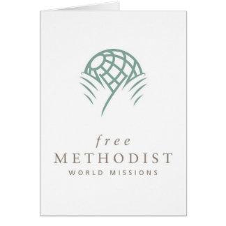 Free Methodist Mission Note Card