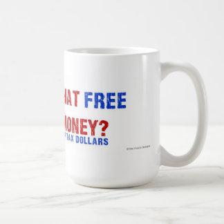 Free Money? Basic White Mug