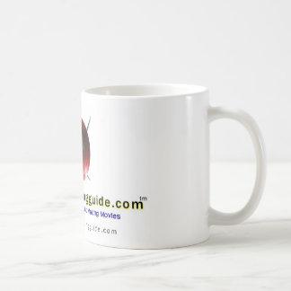 free movie making guide.com Logo Basic White Mug