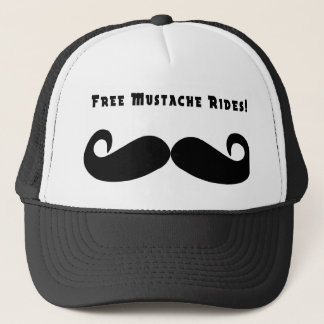 Free Mustache Rides Hat
