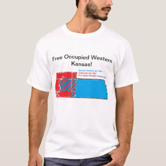 Free Occupied Western Kansas T-Shirt