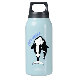 Free Orcas Insulated Water Bottle