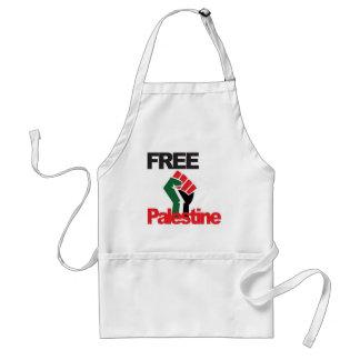Free Palestine - فلسطين علم  - Palestinian Flag Standard Apron