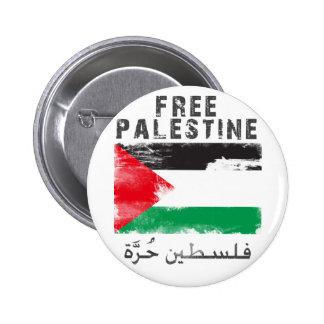 Free Palestine 2 Inch Round Button