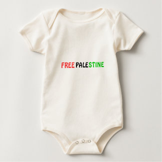 FREE PALESTINE Baby Bodysuit