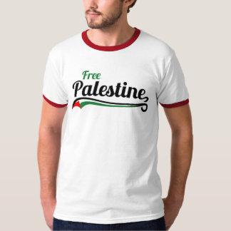 Free Palestine, Baseball Style T Shirt