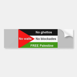 Free Palestine - Customized Bumper Sticker