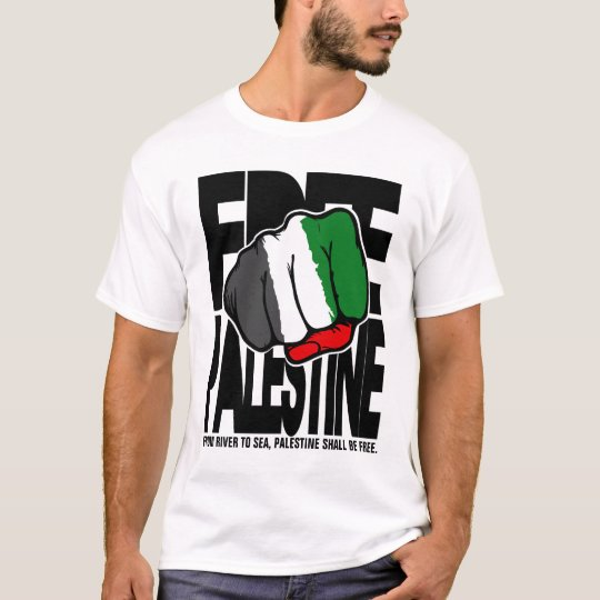 "Free Palestine ""Fist"" - From river to Sea. T-Shirt"