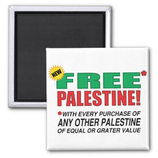Free Palestine - Free us from palestine please Magnet