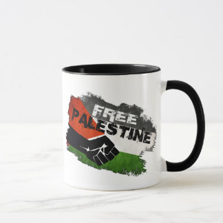 Free Palestine, From River to Sea. Mug