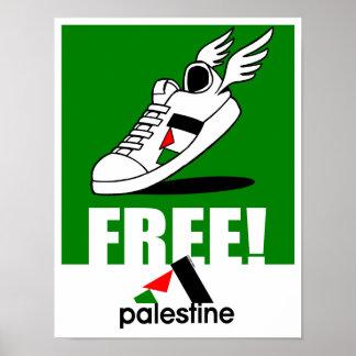 Free! Palestine Poster