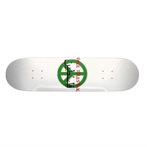 Free Palestine Skate Decks