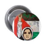 Free Palestine- Viva Palestina 2 Inch Round Button