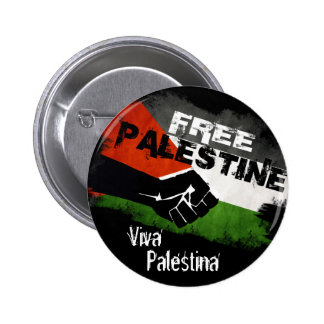 Free Palestine - Viva Palestina 2 Inch Round Button