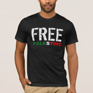 Free Palestine - We Exist T-Shirt