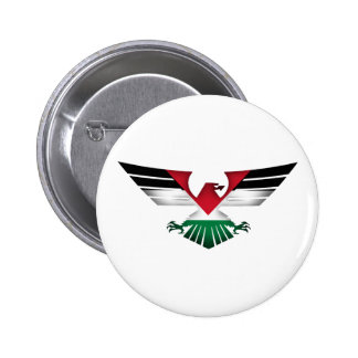 FREE PALESTINE - WINGS OF FREEDOM 2 INCH ROUND BUTTON