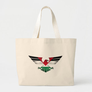 FREE PALESTINE - WINGS OF FREEDOM LARGE TOTE BAG