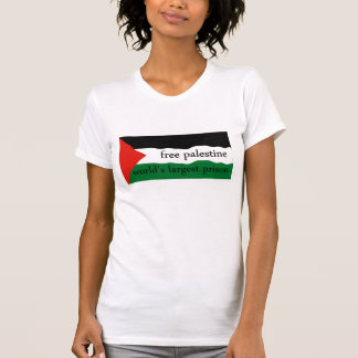 FREE PALESTINE WORLD'S LARGEST PRISON T-Shirt