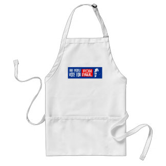 Free people vote for Ron Paul Aprons