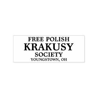 Free Polish Rubber Stamp