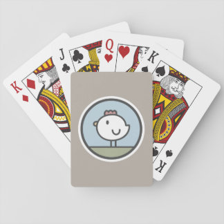 Free Range Chicken Playing Cards