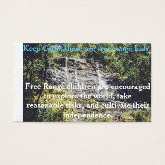 Free Range Children Card