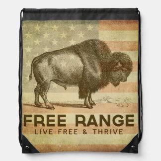 Free Range Drawstring Backpack