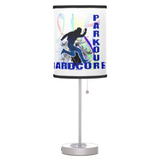 Free Running Parkour Hardcore Table Lamp