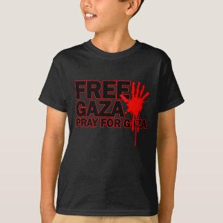 FREE SAFE GAZA PALESTINE H.png T-Shirt