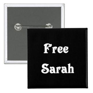 Free Sarah Pinback Buttons