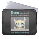 Free Schrodinger's Cat Laptop Computer Sleeve