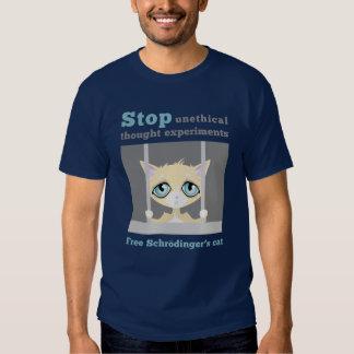 Free Schrodinger's Cat Shirt