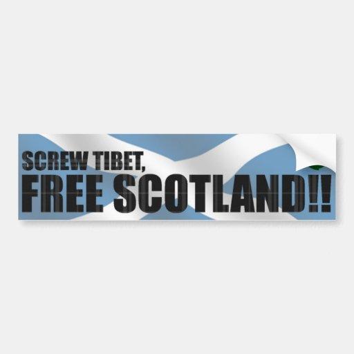Free Scotland!! Bumper Sticker