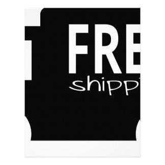 Free Shipping Letterhead