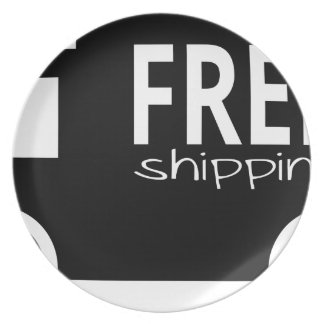 Free Shipping Plate