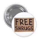 Free Shrugs Cardboard Sign
