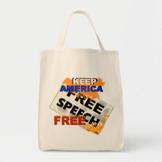 Free Speech Grocery Bag